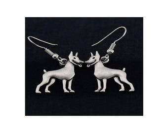 Miniature Pincher Charm Earrings