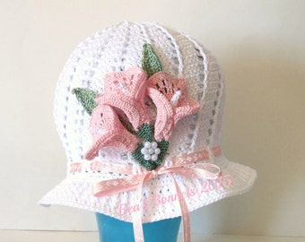 Child sized Spring Easter Bonnet