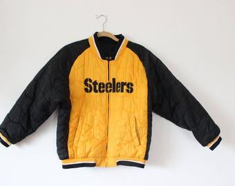 Reversible STEELERS Winter Jacket
