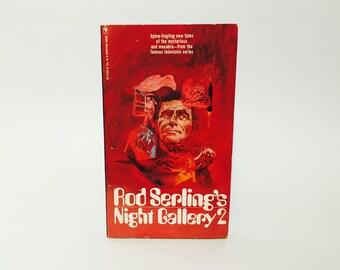 Vintage Sci Fi Book Rod Serling's Night Gallery 2 1972 Paperback Anthology