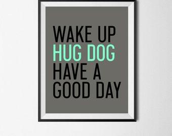 Dog Art Dog Print Wall Art Dog Lover Animal Art Dog Artwork Canine Pet Printable Dog Gift Wall Decor Pet Lover Home Decor Nursery Art