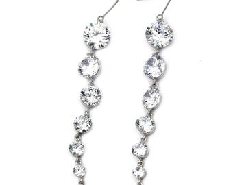 Elegant personality shiny earrings
