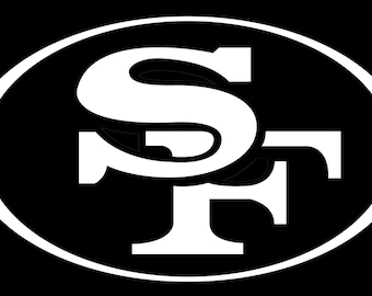 San Fransico 49ers Vinyl Decal