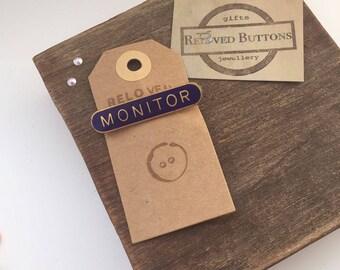 Monitor - staff pin - leadership gifts - staff appretiation - enamel pin - harry potter pin - prefect badge - prefect pin - lapel pin - pins