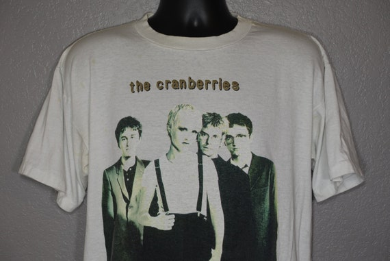 1994 RARE The Cranberries - No Need To Argue World Tour 94-95 - Double Sided Vintage Concert T-Shirt