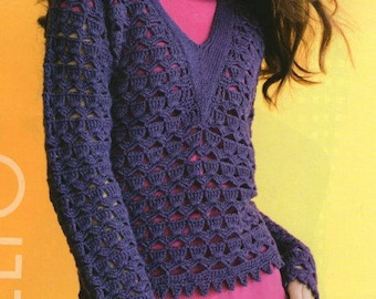 Tender Plum Sweater