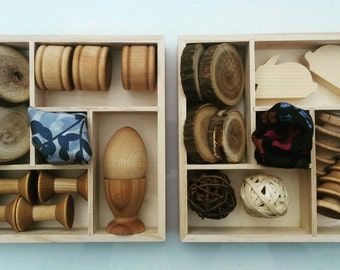 Montessori, Toddler, Loose Parts, Reggio Emilia, Waldorf