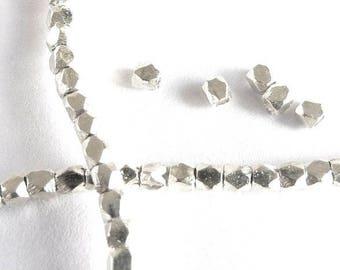 Pearl Silver 925 octagonal KSB0017W PET