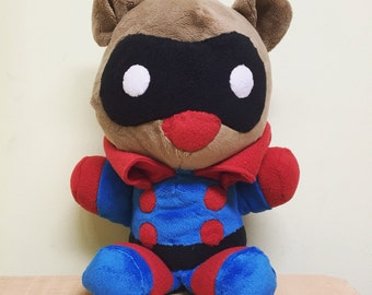 Bucky Bear Plushie -Captain America-