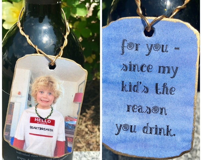 Custom Wine Tags