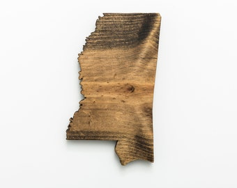 MS | Stained Wood Wall Art
