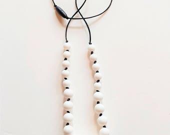 Hexagon Teething Necklace