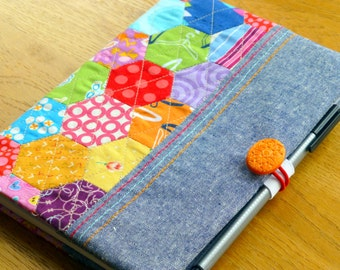PDF Pattern: Hexie Notebook Cover (A5)