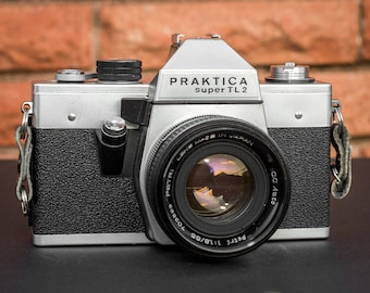Praktica Super TL 2 with 50mm f/1.8 Lens
