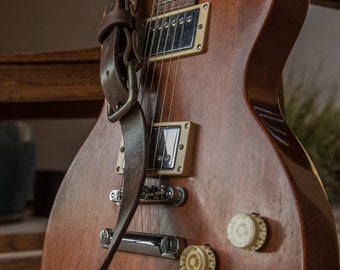 Leather Guitar Strap | Custom Guitar Straps | Electric Guitar Straps | Custom Leather Guitar Straps