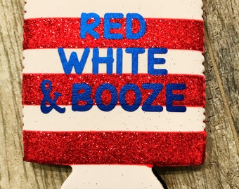 4th of July Can Coolers