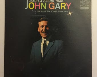 John Gary Catch A Rising Star (Mono) Vintage Vinyl Record Album 1963