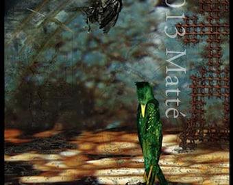 "12"" X 18"" Electrophotographic Print of 'La Peste'"