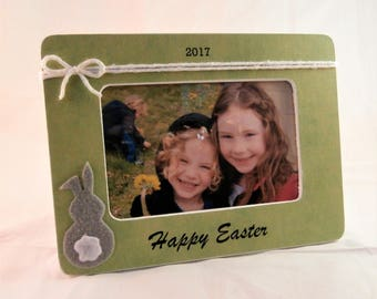Happy Easter gifts for adults for daddy easter picture frame easter personalized gift from kids baby son daughter