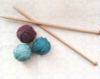 Vintage Size 13 Knitting Needles