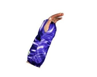 Fashionable Arm Cast Cover in Purple Multi-Color for Short Arm Cast