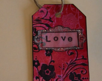 Love 2 Handmade Tag & Bookmark