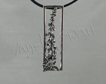 Foxglove Flower Pendant