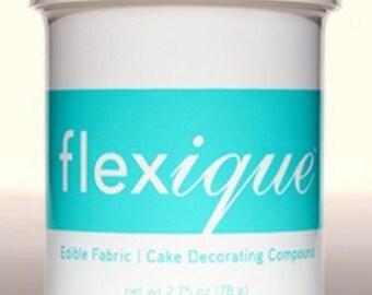 Flexique Edible Fabric 2.75 oz & Glue 3.7 oz