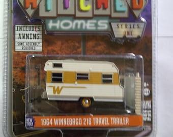 1964 Winnebago 216 Travel Trailer new in blister