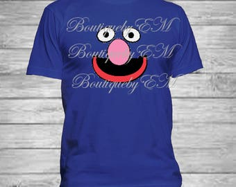 Grover Sesame Street inspired T-shirt, MORE CHARACTERS AVAILABLE!