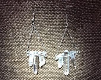 Illuminate Earrings by Galactic Gaia Gems