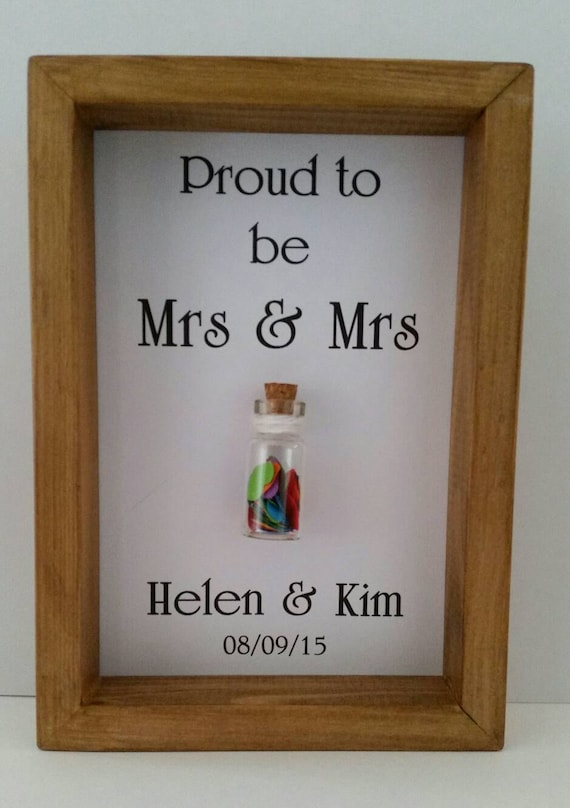 Same Sex Wedding Gift Ideas: Same Sex Wedding. Mrs & Mrs. Gay Wedding. Wedding Gift