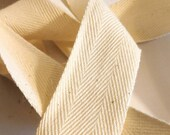 Cotton Twill Tape, Natura...