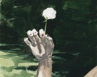 How One We Grow .   giclee art print