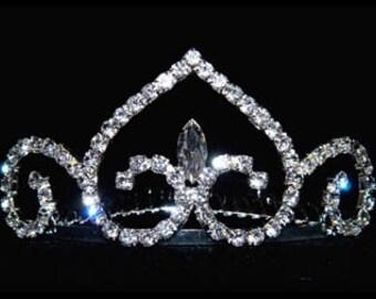 Style # 15831 - Royal Princess Tiara Comb
