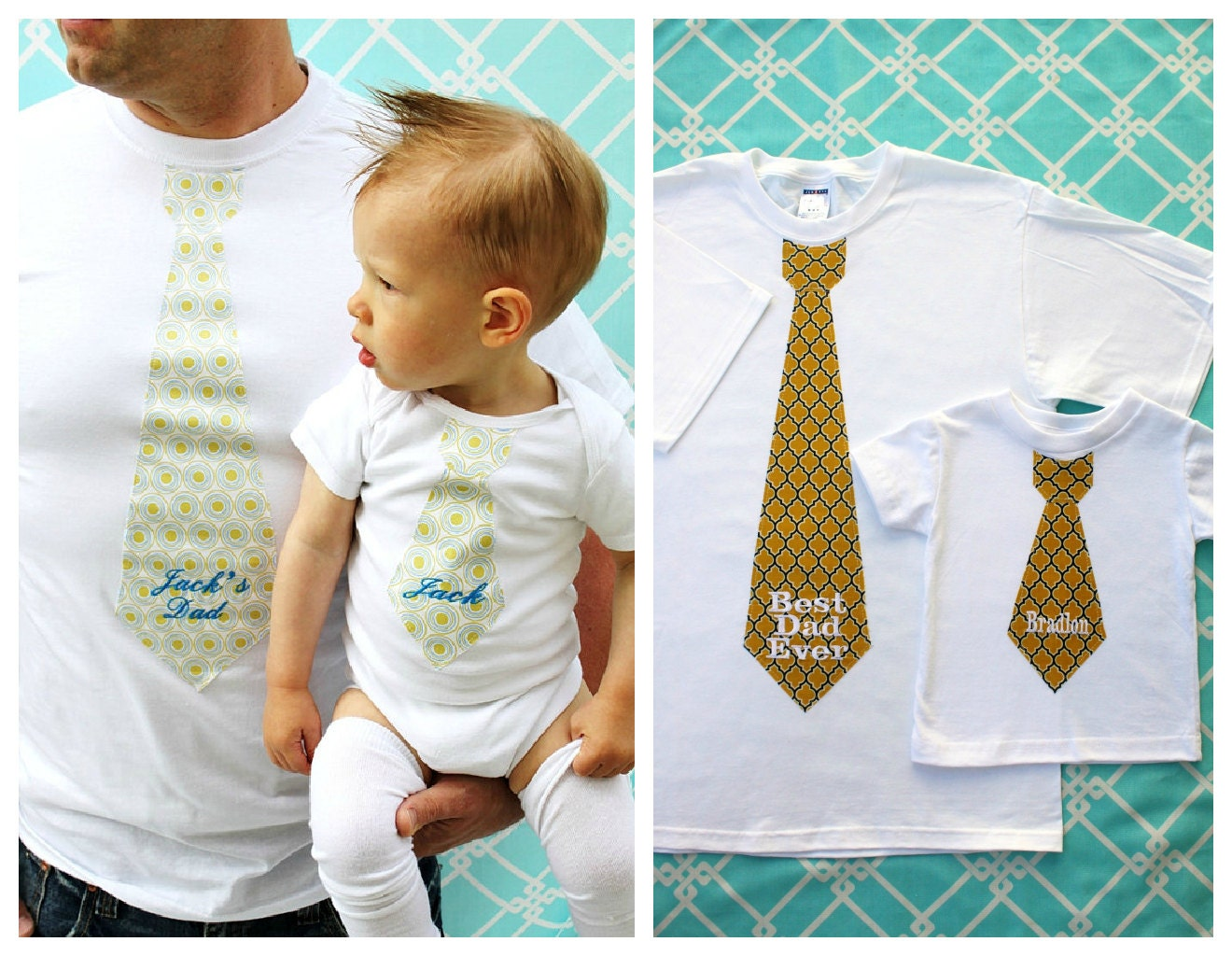 Holiday personalized gift baby boy new dad 2 piece zoom negle Gallery