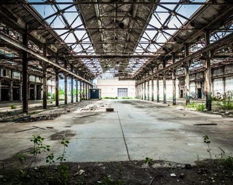 Abandoned Warner factory in Cleveland