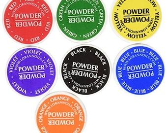 LorAnn Food Coloring Powder 1/2 oz jars - Set of 7 Colors