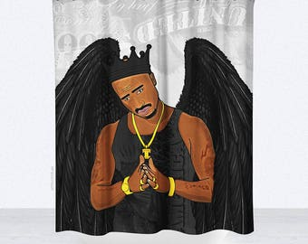 Makaveli Shower Curtain - 70x70 | Made to Order |