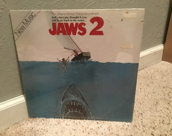 Sealed Jaws 2 Original Soundtrack LP Vinyl Record