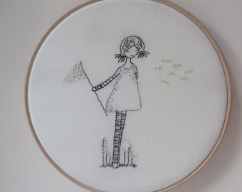 Catching Wishes embroidery