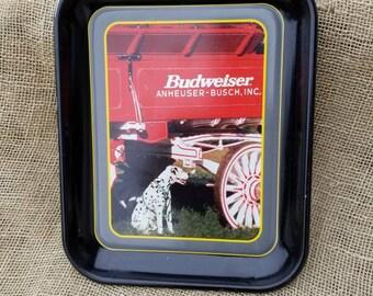 1996 Anheuser-Busch Tray  The Budweiser Dalmatian