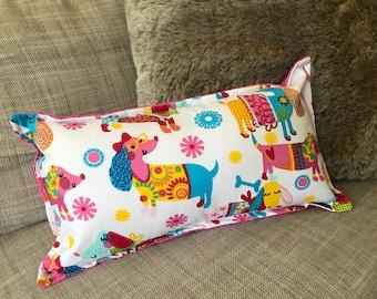Dachshund / Sausage Dog Decorator Cushions Home Living