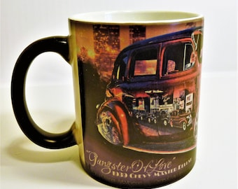 Gangster Of Love Low Rider Color Changing Custom Personalized Ceramic Mug 11 Ounce