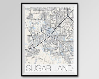 Sugar land texas Etsy