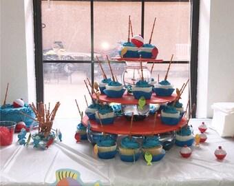 Ofishally one cupcake stand