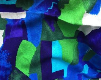 Gorgeous Mid Century Modern barkcloth like fabric