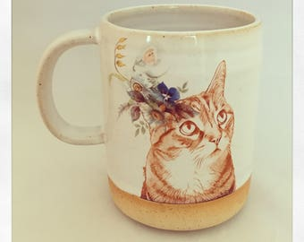 Push Push's Darling Tabby Cat Mug