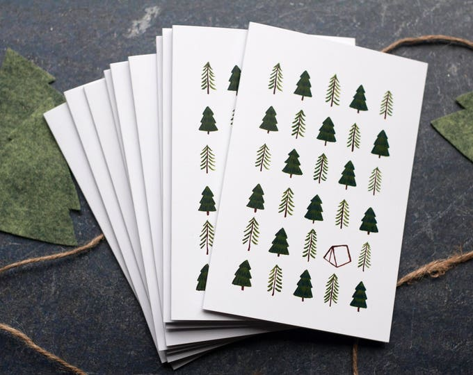 Happy Camper Greeting Cards [Set of 10]