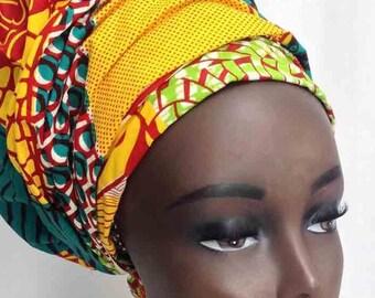 african headwrap, ankara headwrap